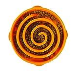 Outward Hound Fun Feeder Slo Bowl - Comedero con obstáculos - Naranja -...