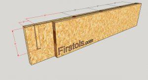 repisa de madera moderna