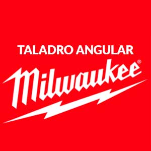 Milwaukee-taladro-angular