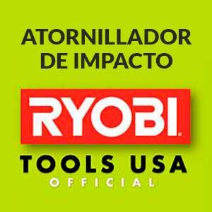 Ryobi-atornillador-a-bateria-de-impacto